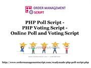 PHP Poll Script, PHP Voting Script, online Poll and Voting Script-conv