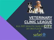 All Pet Health Care Services in One Place - Safari Vet