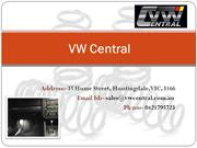Buy VW Exhaust Australia- VW Central