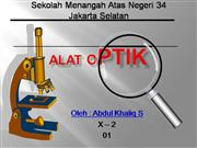 ALAT OPTIK 150ppi