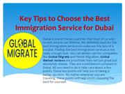 Key Tips to Choose the Best Immigration Service