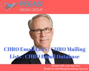 CHRO Email Lists|CHRO Mailing List in usa