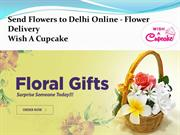Send Flowers to Delhi Online - Flower Delivery