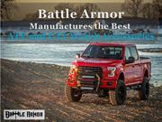 Battle Armor Manufactures the Best ATV and UTV Winch Accessories