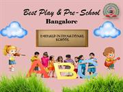 Play & Pre-Schools in Bangalore | Kindergarten & Montessori School