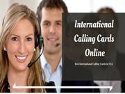 Buy Calling Cards Online With Best possible Price
