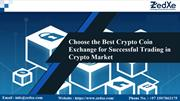 Choose the Best Crypto Coin Exchange for Successful Trading
