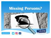 Missing Persons by Private Investigator sydney