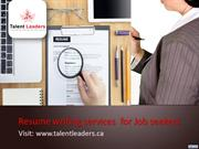 Professional Resume writing services for Job seekers!