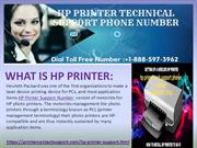 HP Printer Technical Support Number    +1-888-597-3962