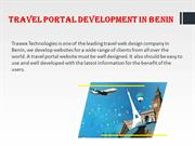 Travel Portal Development in Benin