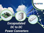 Favotek – Order Encapsulated DC to DC Power Converters from Us