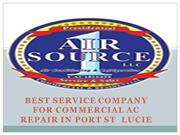 BEST SERVICE COMPANY FOR COMMERCIAL AC REPAIR IN PORT ST  LUCIE
