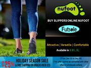 Buy Slippers Online Nufoot USA