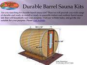 Durable Barrel Sauna Kits