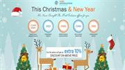 Exclusive Christmas & New Year Offers On SEO, Web design, mobile apps