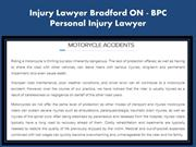 Personal Injury Lawyer Newmarket