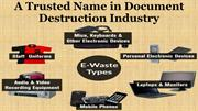 A Trusted Name in Document Destruction Industry