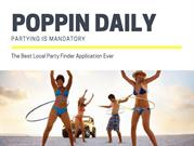 Poppin Daily - The Best Local Party Finder App
