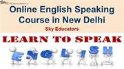 Online English-Speaking-Course