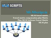 MLM forced matrix - Matrix Plan MLM Software -  Forced matrix MLM plan
