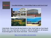TravelFab Holidays - Cuba Holiday Deals on Sale Now & Feed