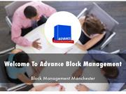 Welcome To Advance Block Management