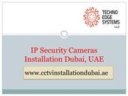 IP Security Cameras Installation Dubai, UAE