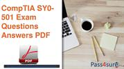 CompTIA SY0-501 Exam Dumps Questios And Answers
