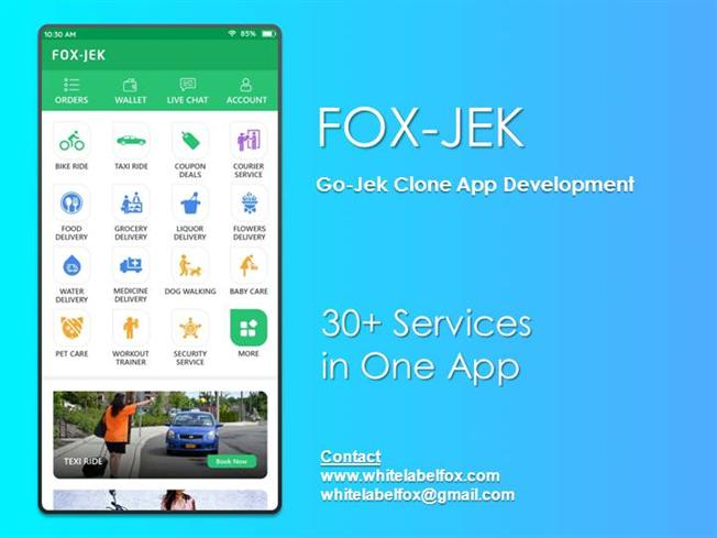 Get All in One Gojek Clone App for Your Startup  authorSTREAM
