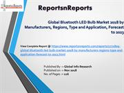 Bluetooth LED Bulb Market Size and Share Industry Report, 2023