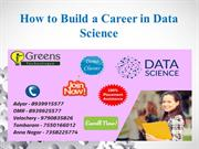 How to Build a Career in Data Science