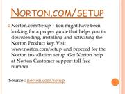 What Can You Do After You Access Norton