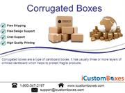 Custom Corrugated Boxes  Custom Corrugated Packaging Box Wholesale