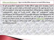 Office.com/setup -Enter Office Setup Key | Download Office setup