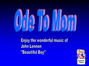 ODE TO MOM 05-11-08