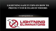 Lightning Safety Tips on How to Protect Your