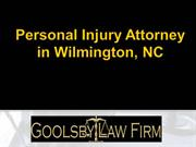 Professional Personal Injury Attorney in Wilmington