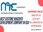 Best Custom Magento Development Company