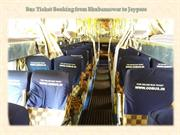 Bus Ticket Booking from Bhubaneswar to Jeypore