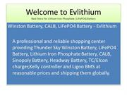 LiFePO4 Battery by Evelithium