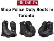 Shop Police Duty Boots in Toronto