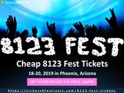 Discount 8123 Fest Tickets and 2019 Lineup