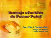 Uso efectivo de Power Point