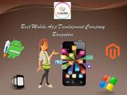 Best Mobile App Developer Company in Bangalore | Indglobal