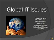 Team 12 Global IT Issues
