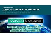 Cart Services For The Deaf
