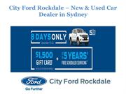 City Ford Rockdale - New & Used Car Dealers Sydney