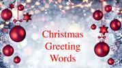 christmas greeting words for boss
