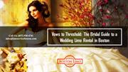 Vows to Threshold The Bridal Guide to a Wedding Limo Rental in Boston
